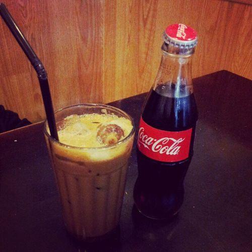 Classic Cocacola Whitecoffee Drinks