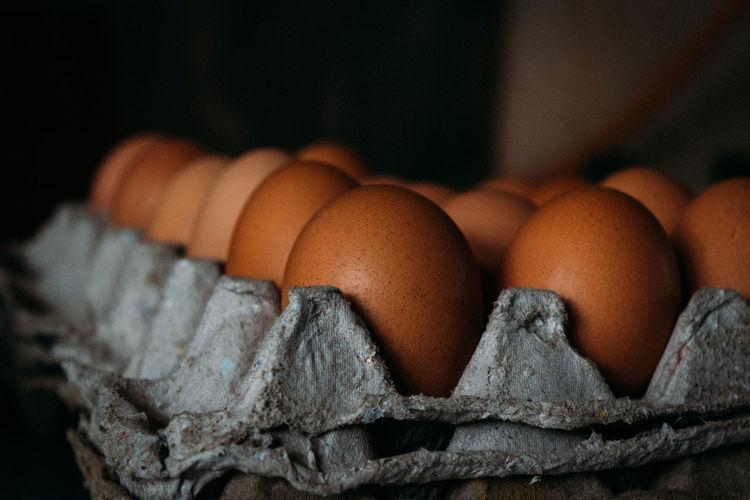 Close-up of an egg