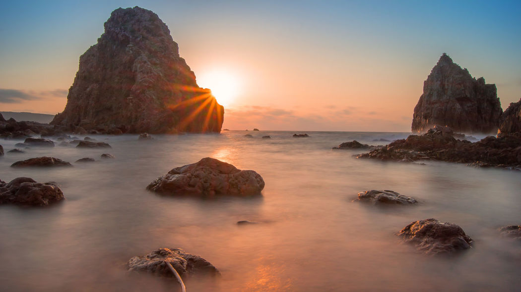 Sunset Sun_ Collection Beach EyeEm Best Shots in Japan