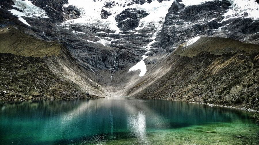 Water Nature Outdoors Day No People Beauty In Nature Sky Montain And Sky Laguna Humantay Perù 🇵🇪