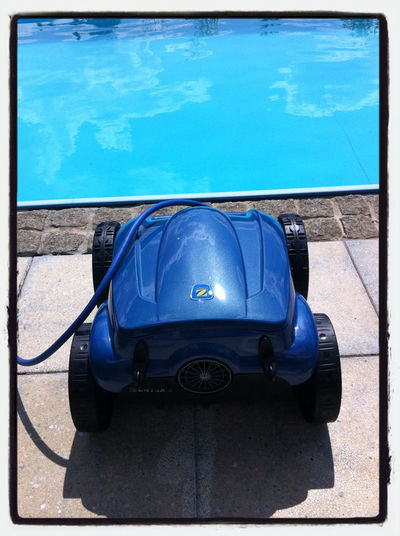 Unser Poolroboter
