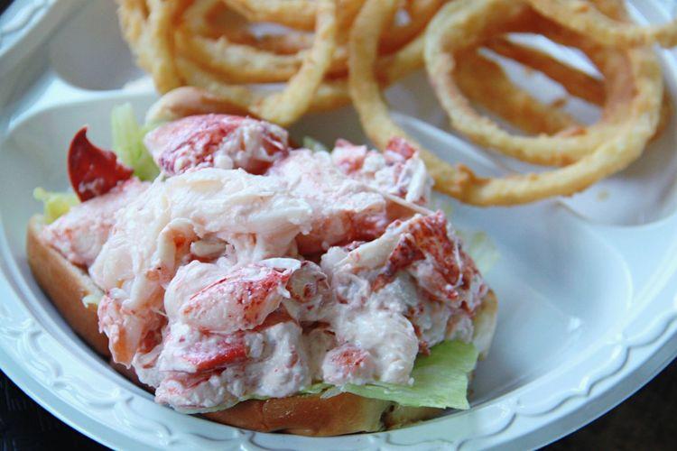 Lobster Roll Lobsters @Belle Isle Seafood