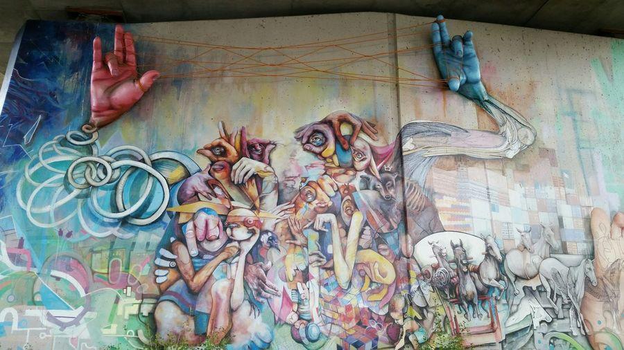 YYC Graffiti Streetphotography Thankyou Artists
