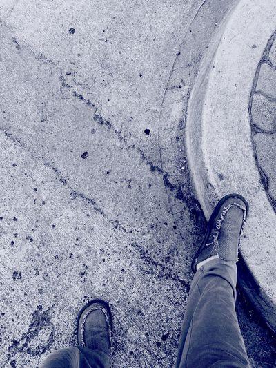 The Curb Shoe Street Santa Monica, California