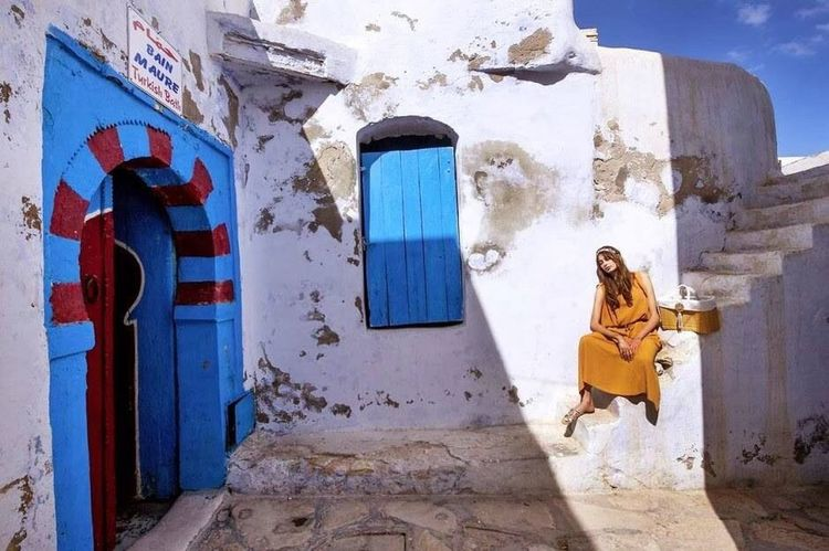 Tunisia Tourism Sidi Bou Said Hello World