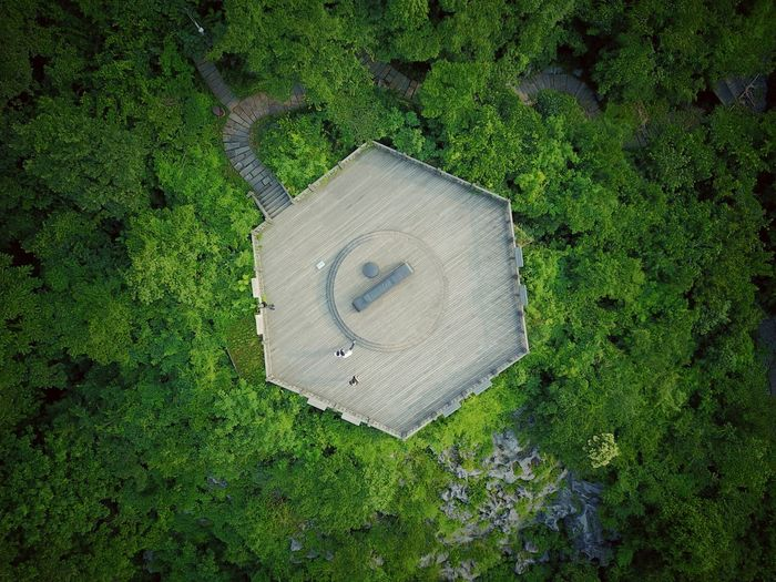 High Angle View Westlake Hangzhou Birdview Dji Tea