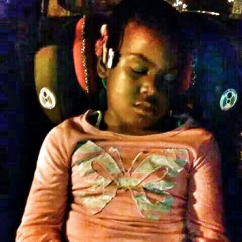 My little sister had a long day ??