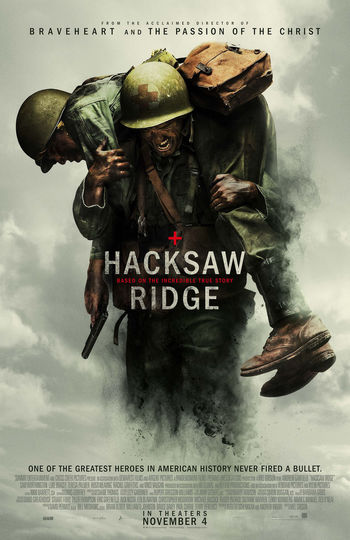 「上帝,請再讓我多救一個。」 HacksawRidge ハクソーリッジ 血戰鋼鋸嶺 鋼鋸嶺 鋼鐵英雄