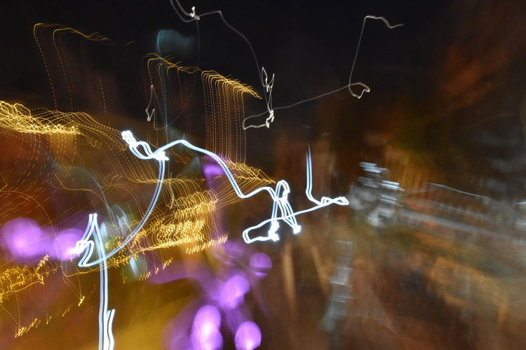 Abstract Close-up Drunk Nights Illuminated Long Exposure Mistake MistAke_Arts Mistakes Are Beautiful Mistakes Happen Night No People Outdoors Ups