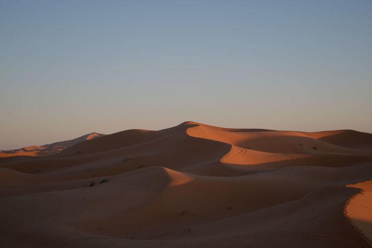 Sky Desert Sand