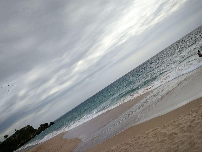 EyeEmNewHere Beach Sea Water Wave Sea Beach Sand Sand Dune Low Tide Sunset Tide Sky