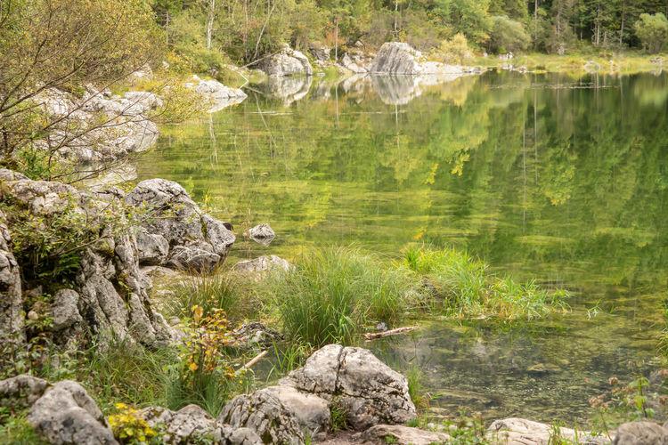 View on stones