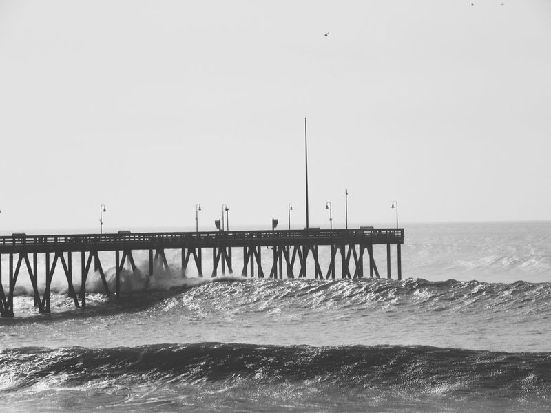 Showcase: February Ventura Ventura, Ca Ventura Pier Pier Black & White Black And White Blackandwhite White Black Beautiful Time Ocean Ocean View Oceanview Oceanviews Waves Waves, Ocean, Nature VenturaBeach Ventura Ca Beach Photography Beachphotography Crashing Waves  Crashingwaves Water