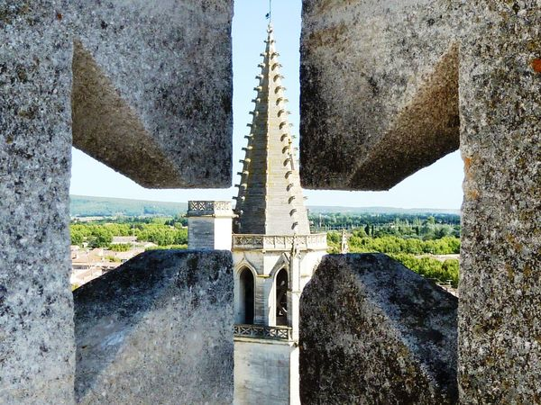 Outdoors Architecture Castle No People EyeEmNewHere Battlements French Castle Avignon, France Avignon
