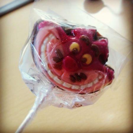 ゆかりthx♡♡ Lollipop Chocolate CheshierCat Aliceinwonderland cute♡