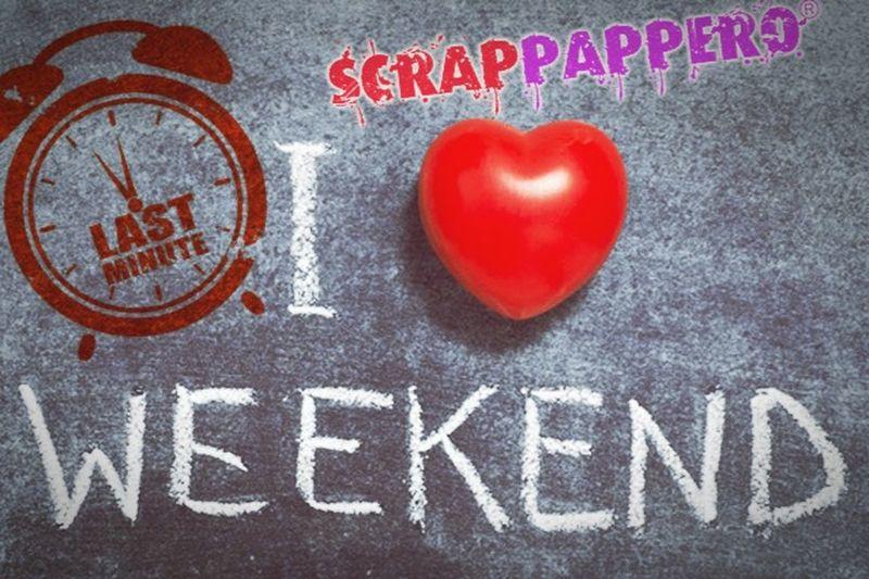 Iloveweekend Shopping Lastminute Scrapbooking Scrappappero Rimini Offerte Casagami Prosculpt MarthaStewart