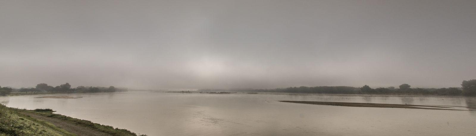 Panorama de Loire, ce matin juste après les brouillards