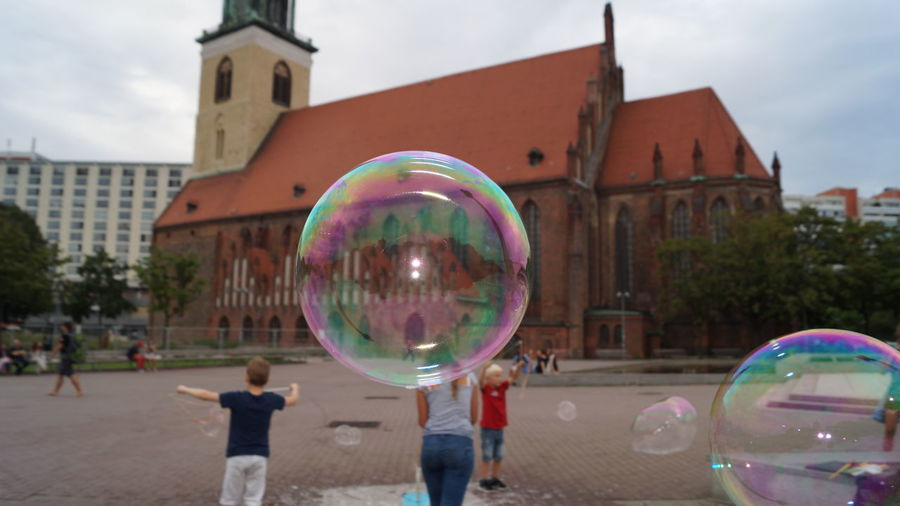 Fun Soap Bubbles