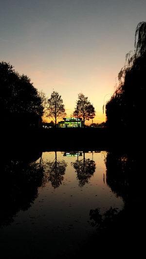 Abend am Teich in 31655 Stadthagen