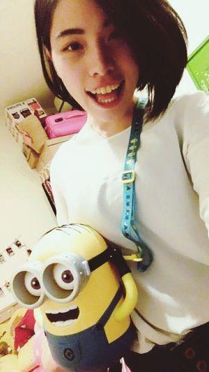 哈哈哈哈實在太可愛了他還會看鏡頭耶👀👀 Minions Jerry Moviestar Japan Universal Studios  Popcorns Socute💕 Gift Banana Hui