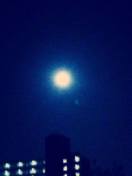 Fullmoon Beautiful Moonlight Supermoon 2013