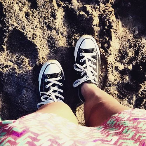 Converse Beach Maitencillo Dress Sea Allstars Sunset Me Legs Shoes Awesome Amazing Cool Perfect Love Loveit Colors Effects Mypic MyEdit Allme Myself JustMe Photography