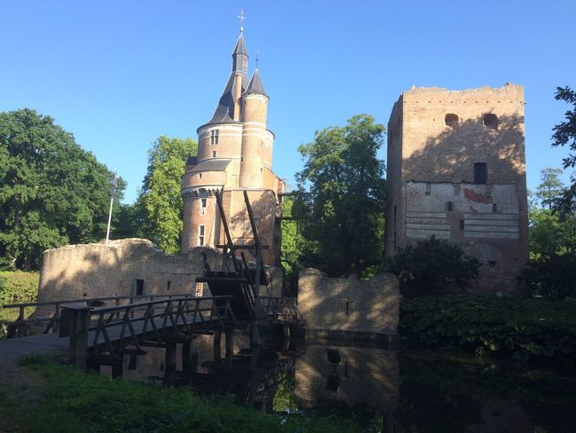 Castle Ruine Architecture Old Tower Nature Parklife