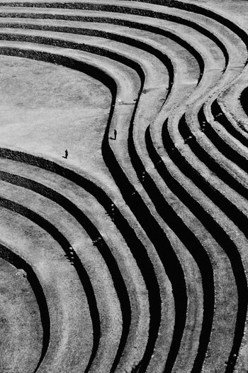 Abstract Conversation Between Line Curve Landscape Moray - Peru Moray, Cusco Outdoors Ruins Of The Past Spiral First Eyeem Photo