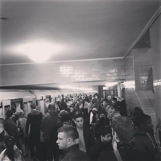 Exodus Bahnstreik Berlin Ubahn Bvg Sbahnberlin Alexanderplatz Urban Life