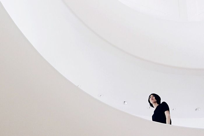The Portraitist - 2016 EyeEm Awards The Architect - 2016 EyeEm Awards White Minimal Minimalism Architecture Simplicity Taking Photos VSCO
