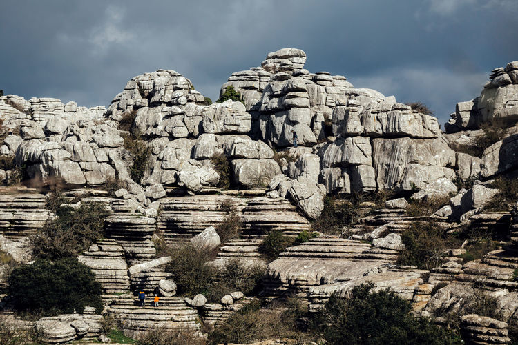 Torcal de Antequera Andalusia Cloudy History Mountain Nature Old Outdoors Rock Formation Rock Mountain Sierra Del Torcal The Great Outdoors - 2016 EyeEm Awards The Great Outdoors With Adobe Torcal De Antequera Tourism Travel Travel Destinations