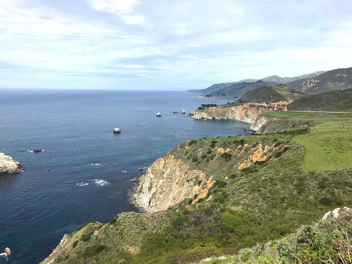 Bixby Creek Bridge from a distance. Horizon California Big Sur Northern California Coastline No People Outdoors Man Made Bridge Bixby Bridge