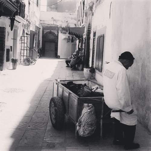 old median essaouira Blackandwhite Bw Bw_collection BW_photography Bwlover Old Buildings Photography Photooftheday Cleaning Equipment Working Occupation Cleaning Manual Worker Washing Cleaner Sweeping