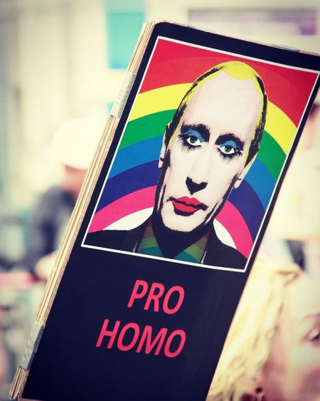 Text Day Multi Colored Close-up People Outdoors Posters Protest Demonstrations  CSD Pro Homo Satirical Placards Homosexual Love Homosexual Rights Modern Love Discover Berlin
