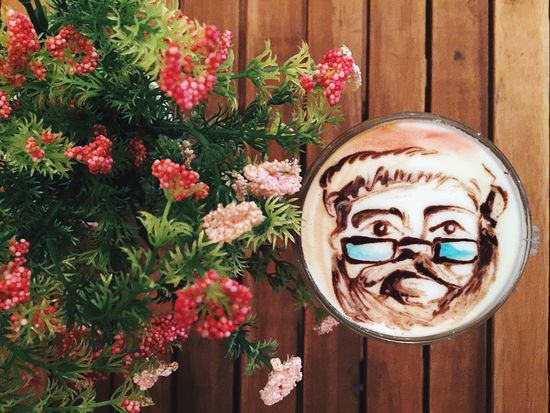 Art Cafe Christmas Colour Of Life Coffe Coffee Coffee Time Cultures Day Design Flower Food Latte Latte Art Latte Art Lover Latteart Latteartporn Latteporn Multi Colored Nature Plant Santa Santaclaus Wood - Material Wooden