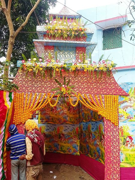 Durgapuja Bengal Beauty In Nature Bengali Culture India West Bengal Art Pandal Durga Stem Petal Pollen Cosmos Flower In Bloom Scenics Flower Head Growing Stall Display Dahlia Shop Market Stall Stamen Fragility Blooming Pink Farmer Market Shore For Sale Various