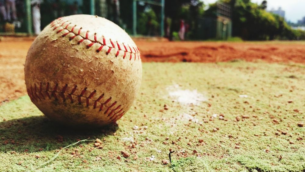 Softball Baseball Textures And Surfaces Low Angle Ballgame Creative Light And Shadow A Day In The Life Life Essentials Exercise Time Practicing