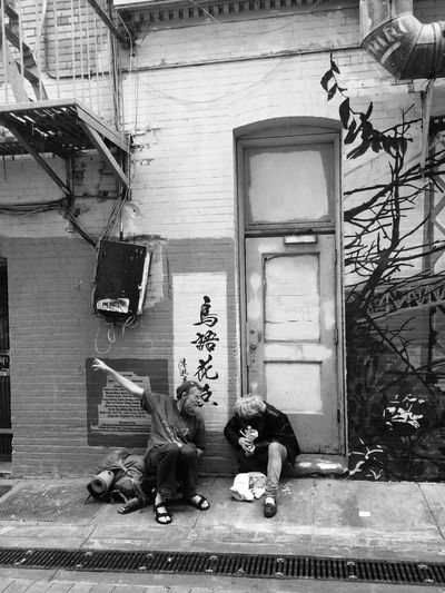 I would die to know what they were talking about and I wish I asked! Chinatown Conversation Jackkerouac Sanfrancisco SF Streetart Streetphotography The Street Photographer - 2016 EyeEm Awards EyeEm Awards 2016