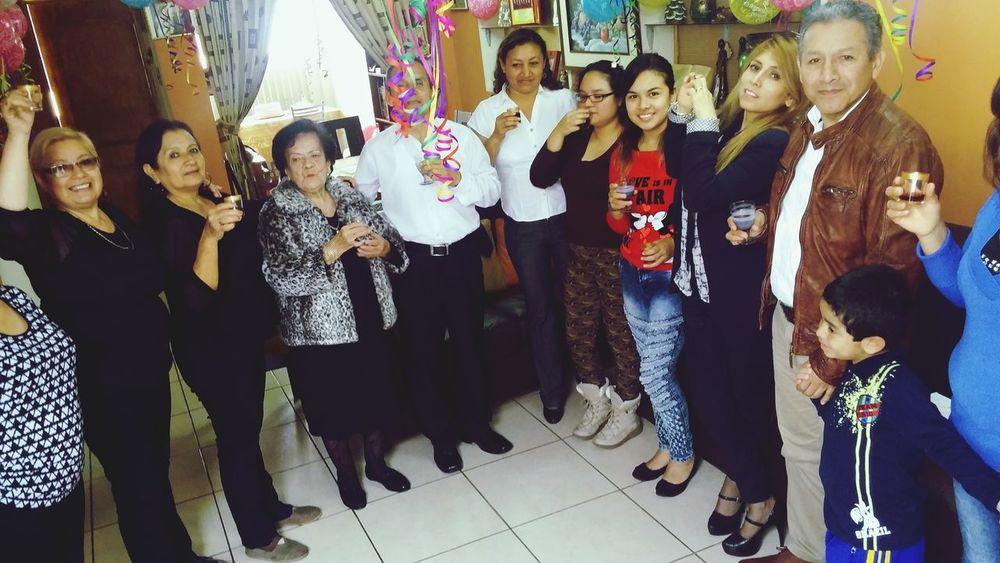 Cumpleaños 85 de mu abuelita! Te adoro <3 Happy