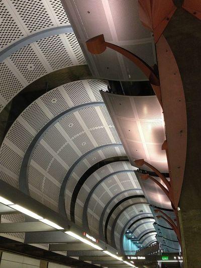 Architecture Subway Underground Subway Station