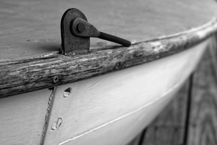 Old Boat Close-up No People Metal Outdoors Wood - Material Nautical Vessel Day Water Old Boat Boat Macro