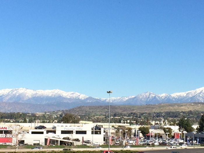 Mountain view from Puente Hills Mall First Eyeem Photo