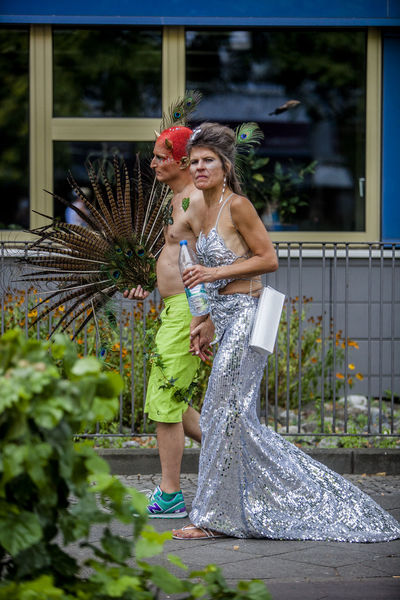 Pride Festival Berlin Berlin Casual Clothing CSD CSD Berlin 2016 Custom Day Enjoyment Festival Focus On Foreground Full Length Fun Gay Happy Jacket Leisure Activity Lifestyles Love Man Outdoors Portrait Pride Together Togetherness Woman Women
