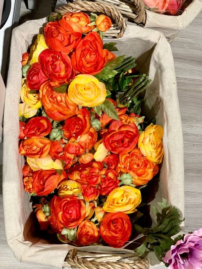 Rose - Flower Freshness High Angle View Flower Healthy Eating Flowering Plant No People Plant Wellbeing Red Directly Above Still Life Vegetable Nature Beauty In Nature Close-up Abundance Indoors