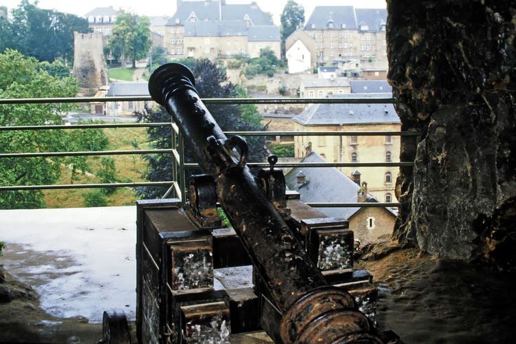 Medievil cannon in the Luxemburg Casemates - medieval Luxemburg valley Architecture Water Abandoned Tree Looking Out Day Outdoors Luxembourg Inside Looking Out Damaged Close-up No People Castle Ruin Built Structure Battlement Ancient Cannons A Taste Of Luxemburg Medieval Luxemburg Valley Cave Fortress