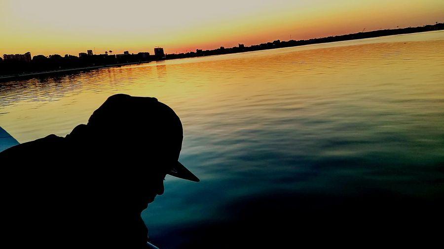 Bayshore sunrise First Eyeem Photo The Great Outdoors With Adobe Sunrise_sunsets_aroundworld Sunrise Bayshore Color Photography Florida Colorfulsunrise Ocean Line Sillouette