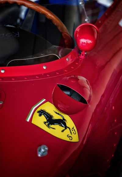 Ferrari Ferrari Red Formula 1 Racing Red Car Mode Of Transport Transportation Close-up Land Vehicle No People Day Yellow Indoors