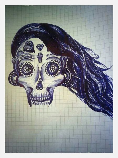 Tattoo Calavera  Art