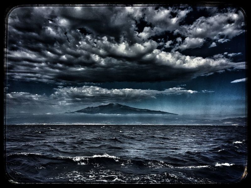 Il gigante visto dal mare Sicily Etna, Mountain, Sicily, Etna Sea Water Sky Rippled No People Horizon Over Water Scenics Nature Cloud - Sky Outdoors Day Beauty In Nature