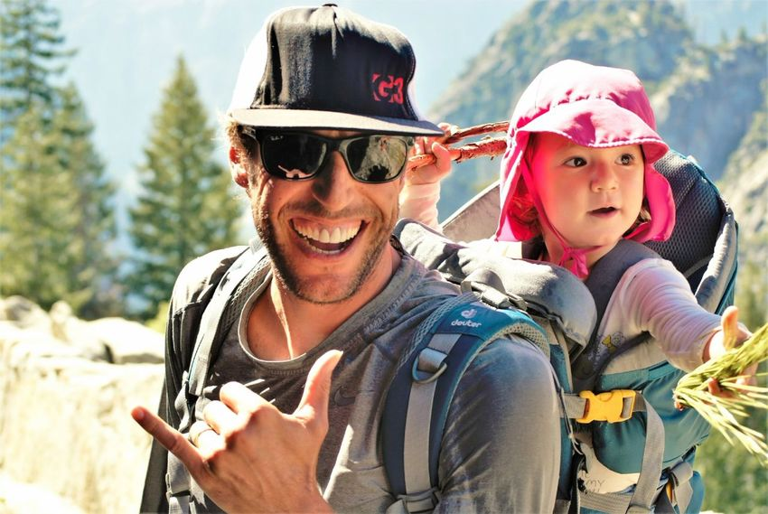 Happiness Smiling Portrait Outdoors Adventure Togetherness Live For The Story Hiking Adventures Hiking Wanderlust The Photojournalist - 2017 EyeEm Awards Yosemite National Park EyeEmBestPics The Great Outdoors - 2017 EyeEm Awards Nevada Falls John Muir Trail Yosemite Family Family Trip